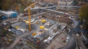 30.000 Euro kostet allein die Baugrube