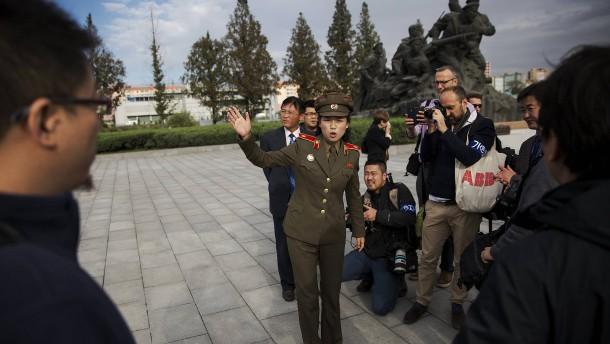 Bitte, wo geht's nach Nordkorea?