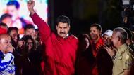Alte Verbundenheit: Als Hugo Chávez' Nachfolger hat Maduro noch einige gute Freunde in Lateinamerika.