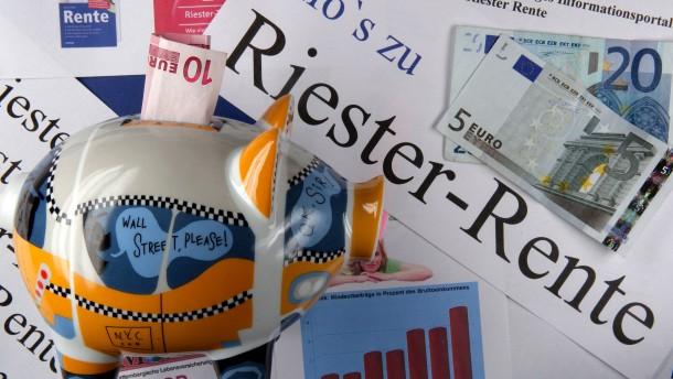 Bei den Riester-Anbietern wächst die Skepsis