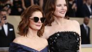 Bitte nett lächeln: Susan Sarandon und Geena Davis bei den SAG-Awards