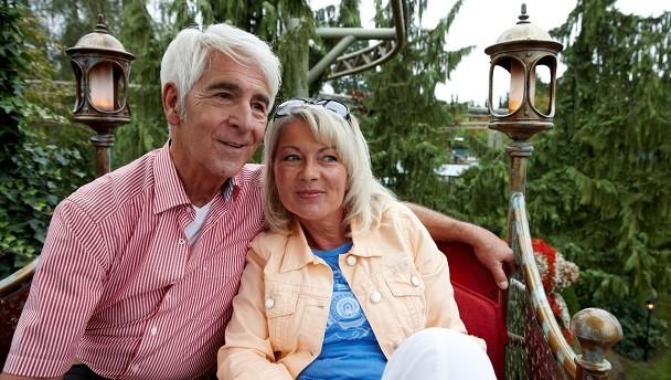 Auch für Gäste über 60 lohnt sich ein Kurzurlaub im Europa-Park in Rust.