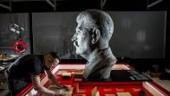 Kalter Blick: In der Gedenkstätte Berlin-Hohenschönhausen wird die Stalin-Ausstellung vorbereitet.