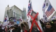 Proteste gegen Präsidentenbesuch