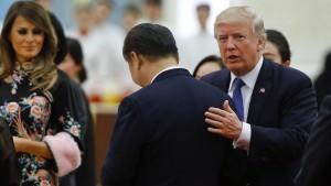 Trump und Xi verbünden sich gegen Nordkorea