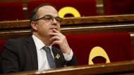 Eigentlich sollte Jordi Turull am Donnerstagabend zum katalanischen Regionalchef gewählt werden.