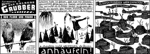 Comic / Kat Menschik / Der goldene Grubber / 013