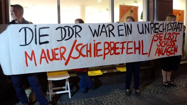 Die Exzesse der DDR
