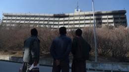 Deutsches Todesopfer nach Anschlag auf Hotel in Kabul