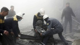 Syrien: Wenn die Retter selbst zu Opfern werden