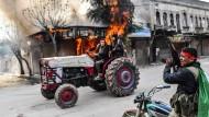 Syrische Rebellen in Afrin