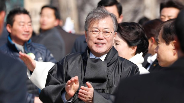 Gespräche auch zum Atomstreit: Südkorea schickt Sondergesandte in den Norden