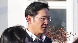 Samsung-Erbe Lee kommt auf Bewährung frei