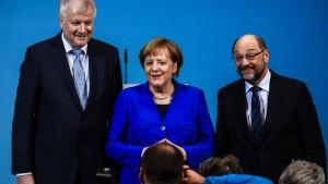 Seehofer versteht die SPD