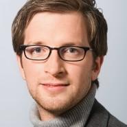 """Johannes Pennekamp - Portraitaufnahme für das Blaue Buch """"Die Redaktion stellt sich vor"""" der Frankfurter Allgemeinen Zeitung"""