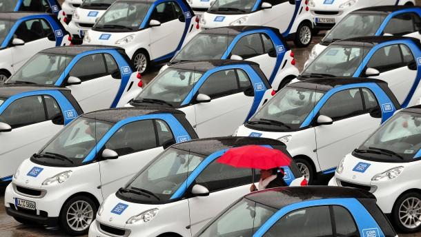 F.A.Z. exklusiv: Drive Now und Car2Go vor der Fusion