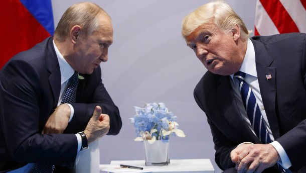 Nach Telefonat der Staatschefs: Trump und Putin planen Gipfeltreffen