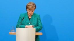 Die endliche Treue der CDU