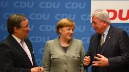 Bouffier und Laschet gegen Rechtsruck der Union