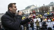 Aleksej Nawalnyj wurde als regierungskritischer Blogger bekannt. Mittlerweile ist er eine der Schlüsselfiguren der russischen Opposition.