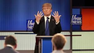 Trump verteidigt seine Männlichkeit