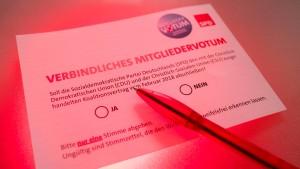 Ist der Mitgliederentscheid der SPD unfair?