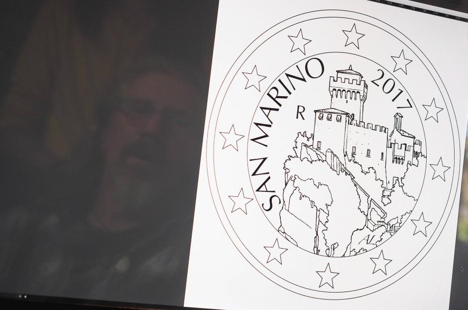 """Das Bild auf der künftigen Münze zeigt den Festungsturm """"Cesta"""""""