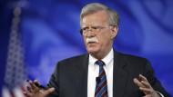 John Bolton wird neuer Sicherheitsberater von Präsident Donald Trump.