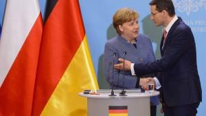 Deutschland und Polen nähern sich an