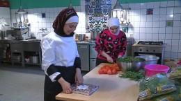Syrische Fernsehköchin kocht für Berlinale
