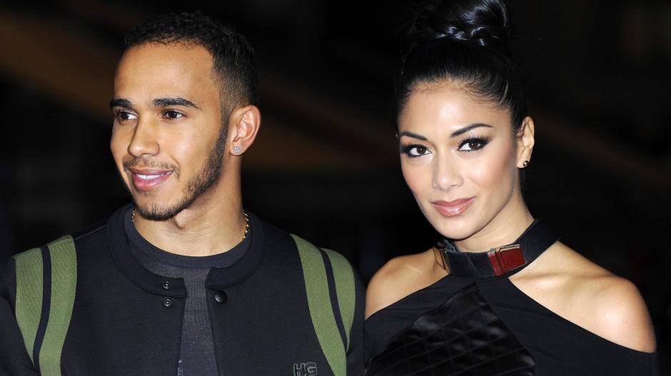 Lews Hamilton und seine ehemalige Freundin Nicole Scherzinger. Im Jahr 2015 trennte sich das Paar.