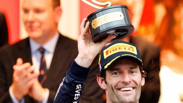 Webber ist Sieger Nummer sechs