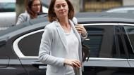 Die Familienministerin Katarina Barley äußert sich zum Fall Wedel.