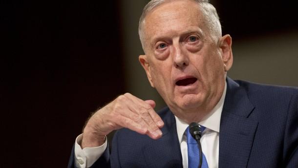 Mattis will Vertrag mit Iran nicht aufkündigen