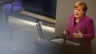 """Merkel fordert Ende des """"Massakers"""" in Syrien"""