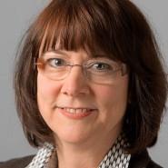 """Ingrid Karb  - Portraitaufnahme für das Blaue Buch """"Die Redaktion stellt sich vor"""" der Frankfurter Allgemeinen Zeitung"""
