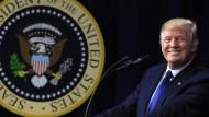 """Ein Mann mit einer """"situativen Wahrheit"""": Donald Trump"""