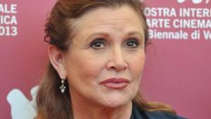 Carrie Fisher hatte Drogen im Blut