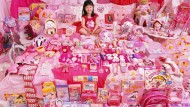"""Alles Rosa: Aus der Serie """"The Pink Project"""" der koreanischen Künstlerin JeongMee Yoon."""