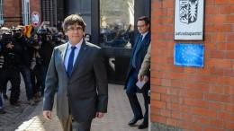 Puigdemont sucht Dialog mit spanischen Regierung