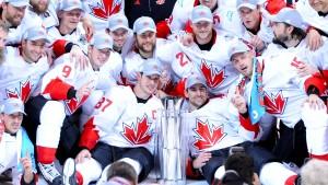 Auf dem Eis ist Kanada nicht zu stoppen