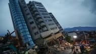 Schweres Erdbeben fordert Tote und Verletzte in Taiwan