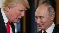 Verstehen sich gut: Trump und Putin