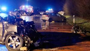 Drei Tote bei Unfall auf der A1