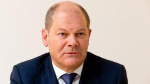 Scholz: Union darf Steinmeier nicht blockieren