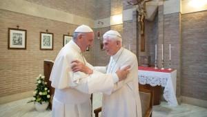 Was schreibt ein Papst dem anderen?