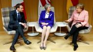 EU stellt sich hinter Großbritannien
