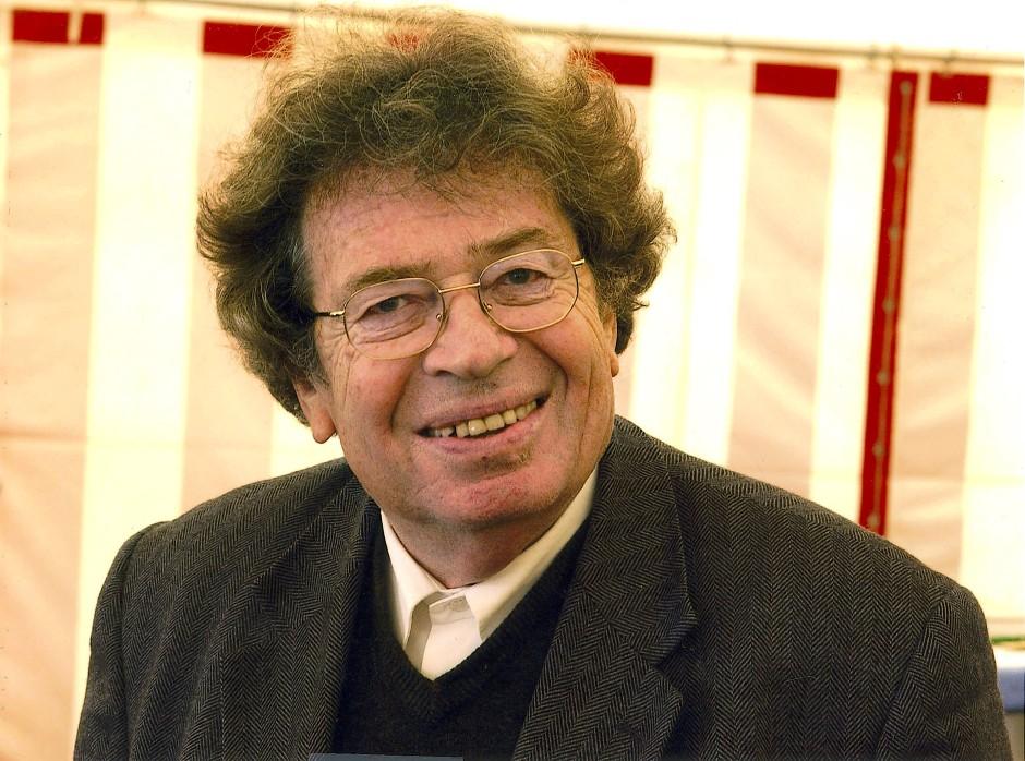 Der ungarische Schriftsteller György Konrád