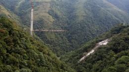 Mindestens 9 Tote bei Brückeneinsturz in Kolumbien