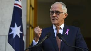 Australien verbietet Sex zwischen Regierungsmitgliedern und Mitarbeitern